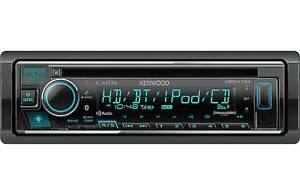 Kenwood Kdc x704 1 din Car Stereo Cd Receiver With Bluetooth Hd Radio