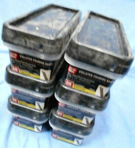 Lot 6 Packages 6 000 Of Grip Rite Round Head 2 3 8 Framing Nails Grw8h1 Nos