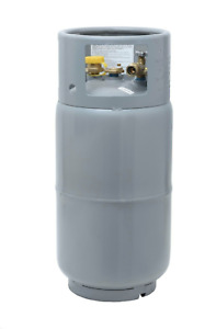 Forklift Propane Tank Cylinder Lp 33 5 Lbs With Gauge And Fill Valve Steel New