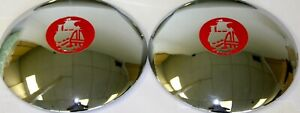 1939 1940 Plymouth Hubcaps Set Of Two