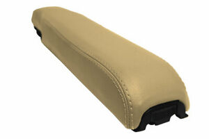 Console Lid Armrest Cover Pvc For Lincoln Continental Town Car 1997 2001 Beige