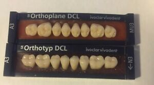 Ivoclar Vivadent Dcl 2 Cards Of Shade A3 Teeth For Dental Lab Materials