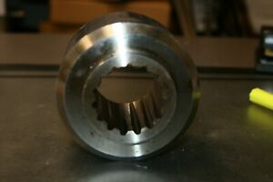 Weld In 15 spline Rotary Cutter Flywheel Hub For Most 60 Hp Up Stump Jumpers