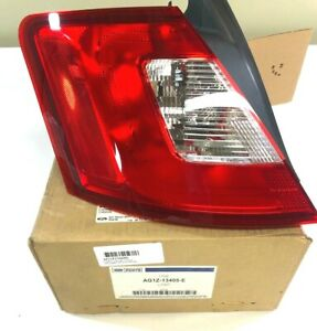 New Oem Ford Tail Light Driver Side 2010 12 Genuine Factory Ag1z 13405 E