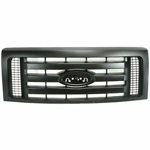 New Textured Black Grille For 2009 2012 Ford F 150 Fo1200510 Ships Today