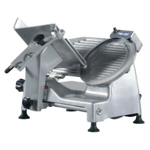 Pro cut Kds 10 Meat Slicer Manual 45 Angled Gravity Feed