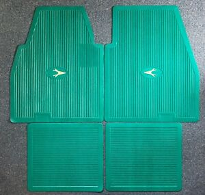 1955 1962 Plymouth Dodge Desoto Chrysler Imperial Floor Mats Set Green