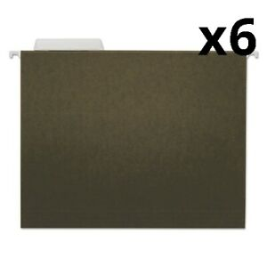 Hanging File Folders Letter Size 1 3 cut Tab Standard Green 25 box Pack Of