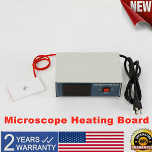 Digital Thermostatic Microscope Plate Temperature Control Stage Slide Warmer 32w