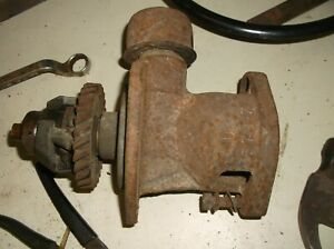 Allis Chalmers Wd W45 Farm Tractor Distributor Drive Governor