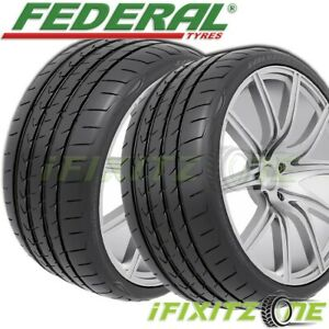 2 Federal Evoluzion St 1 285 30r19 98y Xl Ultra High Performance Summer Tire