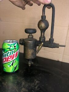 Swift Lubricator Gas Engine Steam Oiler Hit Miss Antique Steampunk Brass Old