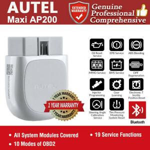 Autel Ap200 ht200 Auto Bluetooth Obd2 Scanner Code Reader For Iphone