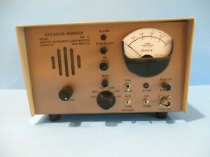 Eberline Radiation Monitor Model Rm 19 Rm19 Cold War Vintage Free Shipping