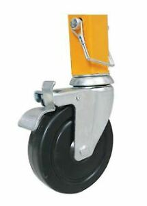 4 werner Src 72 4 5 Casters For 6 Ft Steel Rolling Scaffold
