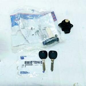 Acdelco Genuine Gm 23237271 Ignition Cylinder Kit With Keys Switch Fits Cts Sky