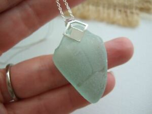 VANUATU COCA COLA Partial 'TR' Sea Glass Necklace
