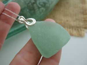 VANUATU COCA COLA Sea Foam - Sea Glass Necklace