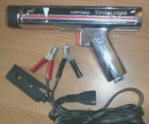 Craftsman Inductive Timing Light Made In Usa 282134 61213400 See Notes