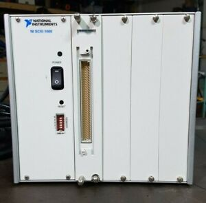 National Instruments Scxi 1000 4 Slot Ac Chassis
