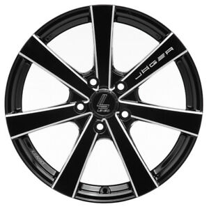 Lenso Tire Wheel Model Jager Gamma 17x75 5x114 3 For Chevrolet Mazda Ford