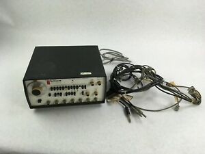 Wavetek Model 189 4 Mhz Sweep Function Generator With Cords