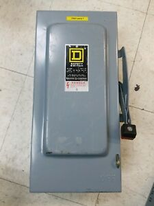 Square D 60amp Safety Switch Series E1 H 322 n