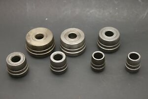 Ammco 7 piece Double Taper Bearing Centering Cone Adapter Set Brake Lathe Kit