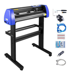 Vinyl Cutter Plotter Cutting 28 Sign Maker Making Kit With 20 Blades Usb Port