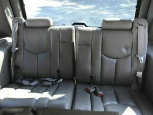 2003 2006 Chevrolet Tahoe Third Row Seat Gray Leather