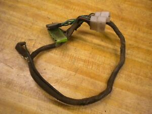 1981 Chevy Luv Isuzu Pup Diesel C223 Fan Control Sub Wire Harness
