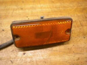 1981 Chevy Luv Isuzu Pup Diesel C223 Front Bumper Side Clearance Light
