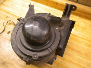 1981 Chevy Luv Isuzu Pup Diesel C223 Heater Fan Motor Mount Pod Assembly