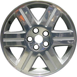 Polished And Painted 6 Spoke 18x7 5 Factory Wheel 2005 2006 Chrysler 300