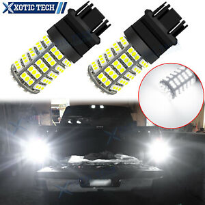 For Chevy Tahoe Suburban 2000 06 Led 3156 3157 Backup Reverse Light Bulb 6000k