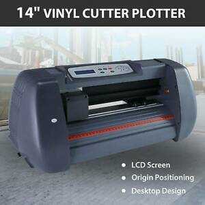 14 Vinyl Cutter Plotter Sign Cutting Machine W software 3 Blades