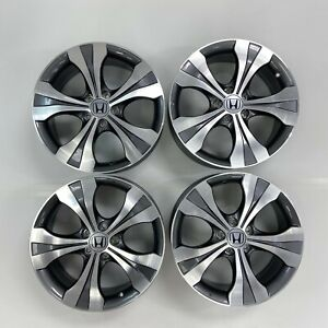 Set Of 4 Honda Accord Civic Cr V Hr V Crosstour 18 Wheels Rims Factory Oem