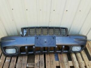 Front Bumper Assembly Limited Integral Grille Fits 99 00 Jeep Grand Cherokee Oem