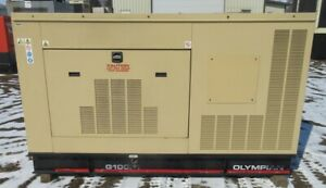 100 Kw Olympian Ford Natural Gas Or Propane Generator Genset 225 Hours
