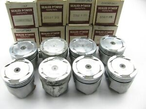 Sealed Power 2268p Forged Pistons Set 1963 1968 Dodge 318 318la Standard Size