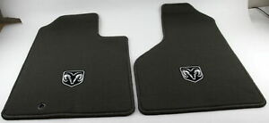 New Genuine Oem Mopar 82209560 Dodge Ram 1500 Front Carpeted Floor Mats