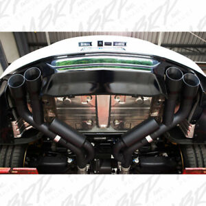 Mbrp 2016 2019 Chevrolet Camaro Ss Manual Quad Tip Axleback Exhaust System Black