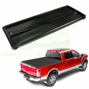 For 05 18 Nissan Frontier 5ft Short Bed Tonneau Cover Hard Trifolding Truck