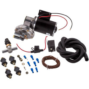 Electric Vacuum Pump Kit For Brake Booster 12 Volt 18 To 22 Vacuum Hose Relay