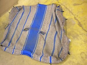 1981 Chevy Luv Isuzu Pup Diesel C223 Seat Indian Blanket Cover Blue Very Good