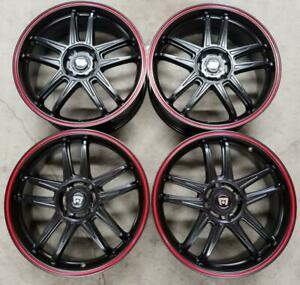 Motegi Mr 117 Wheels Rims 18 Inch 4x114 3 4 Lug Hyundai Honda Nissan