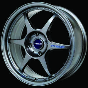 Buddy Club Sf Wheels Full Set 18x7 5 42 4x100 Gunmetal