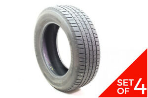 Set Of 4 Used 245 60r18 Michelin Defender Ltx M s 105h 6 5 8 32
