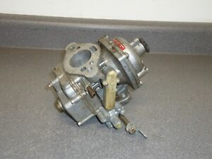 Stromberg Cd Zenith British Made 1 barrel Carburetor Carb Core Triumph Jaguar Mg