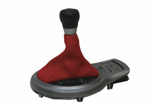 Automatic Shift Boot Pvc Cover For Subaru Brz Scion Grs Toyota 13 20 Red